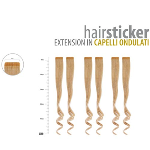 HAIRSTICKER: EXTENSION IN WAVY HAIR